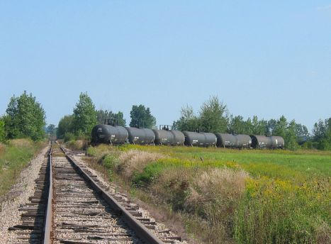 Poland MI railroad siding